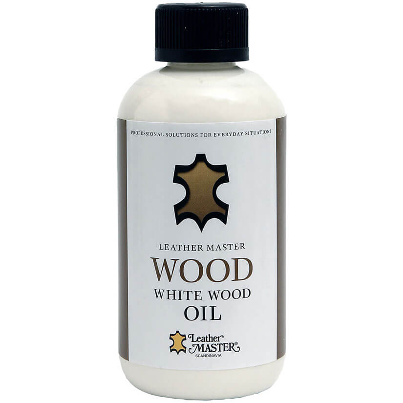 Wood White Wood Oil - Möbelvård | Leather Master