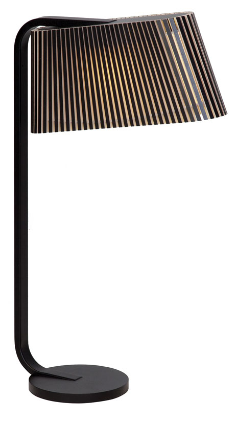 Owalo 7020 Svart - Bordslampa | Secto Design