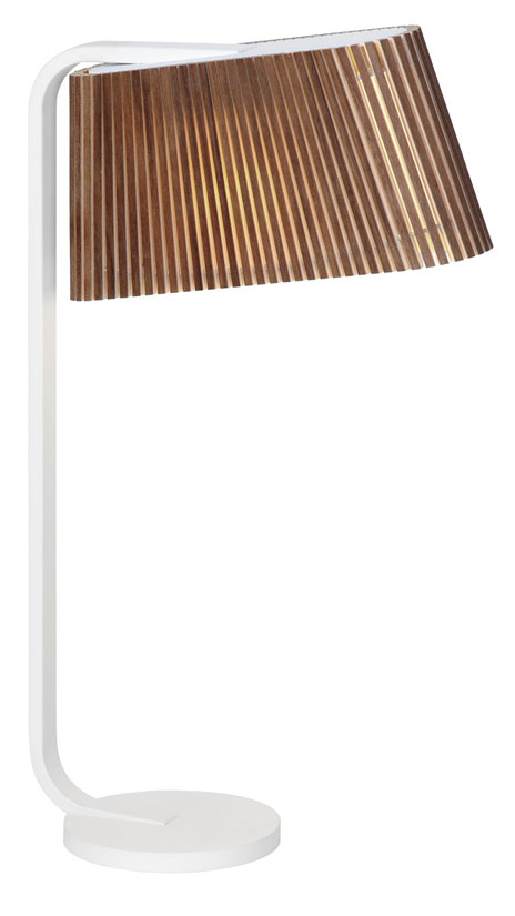 Owalo 7020 Valnöt - Bordslampa | Secto Design