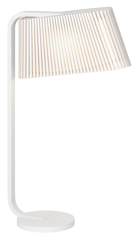 Owalo 7020 Vit - Bordslampa | Secto Design