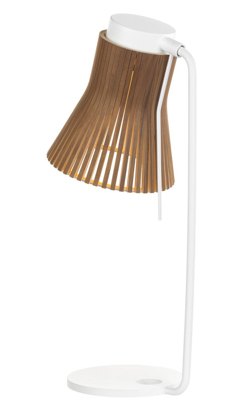 Petite 4620 Valnöt - Bordslampa | Secto Design