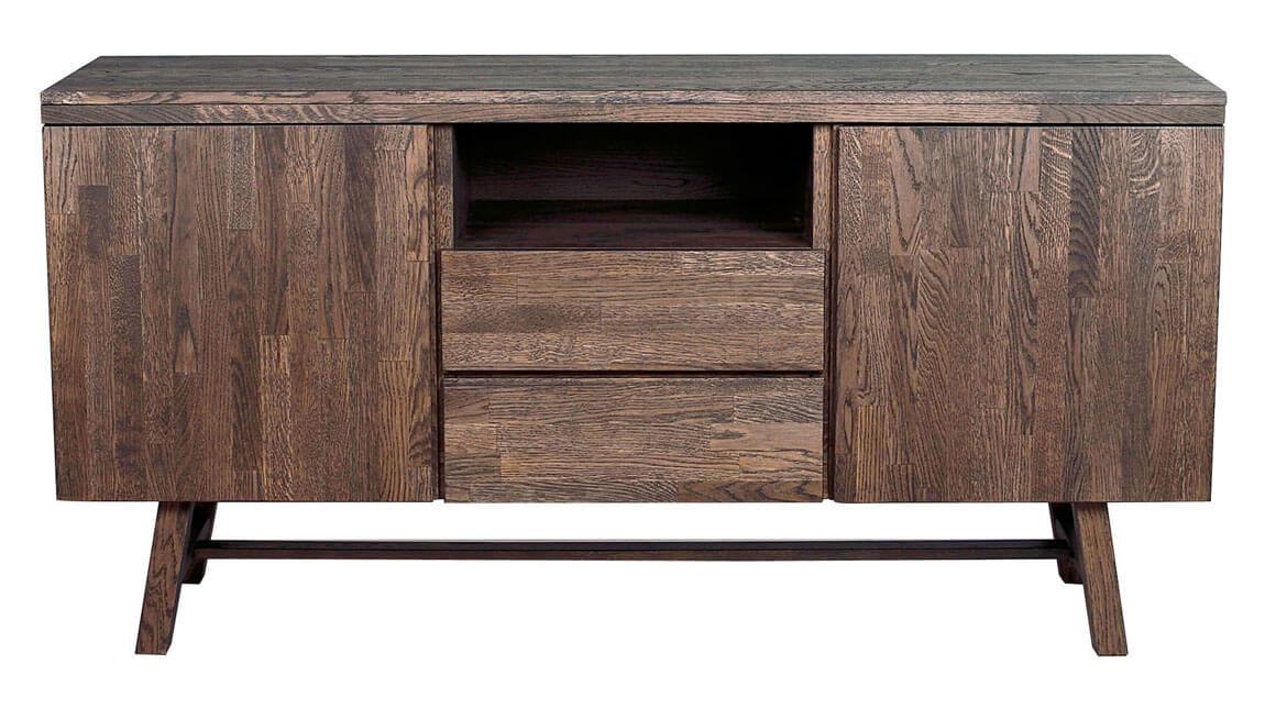 Brooklyn soffbord Mörkbrun 108314 | Möbler från Rowico