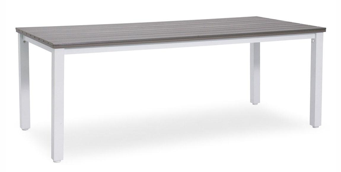 Matbord Arlöv Längd 200 cm Vit | Plantagen