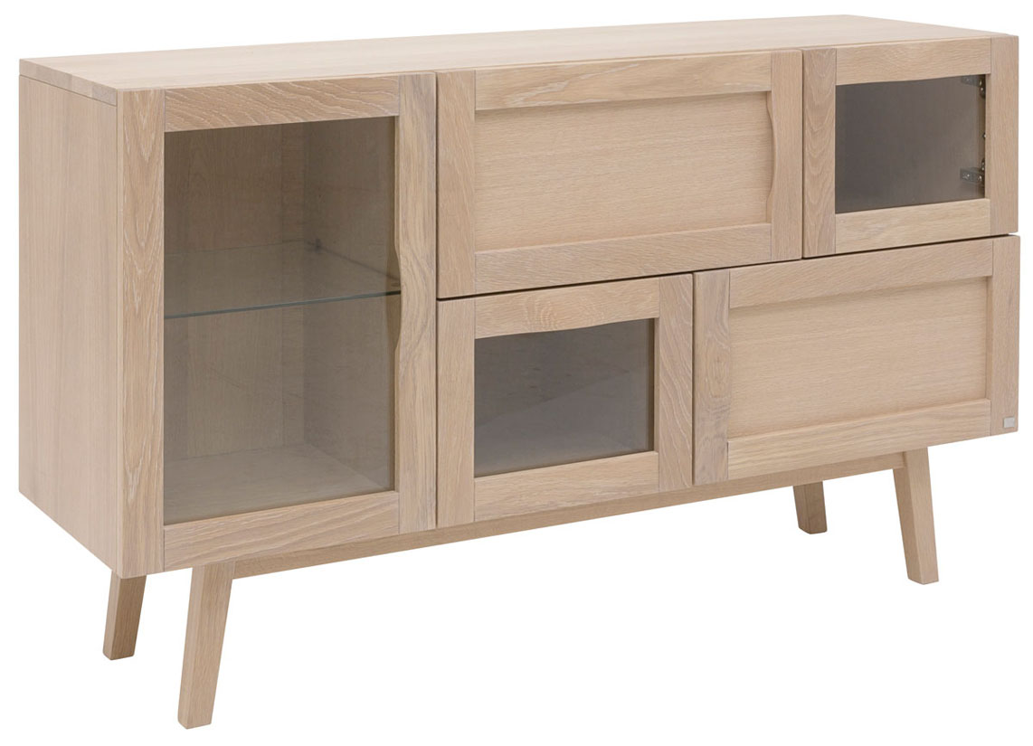 Rainbow 133 cm Blond Ask - Sideboard | Hans K