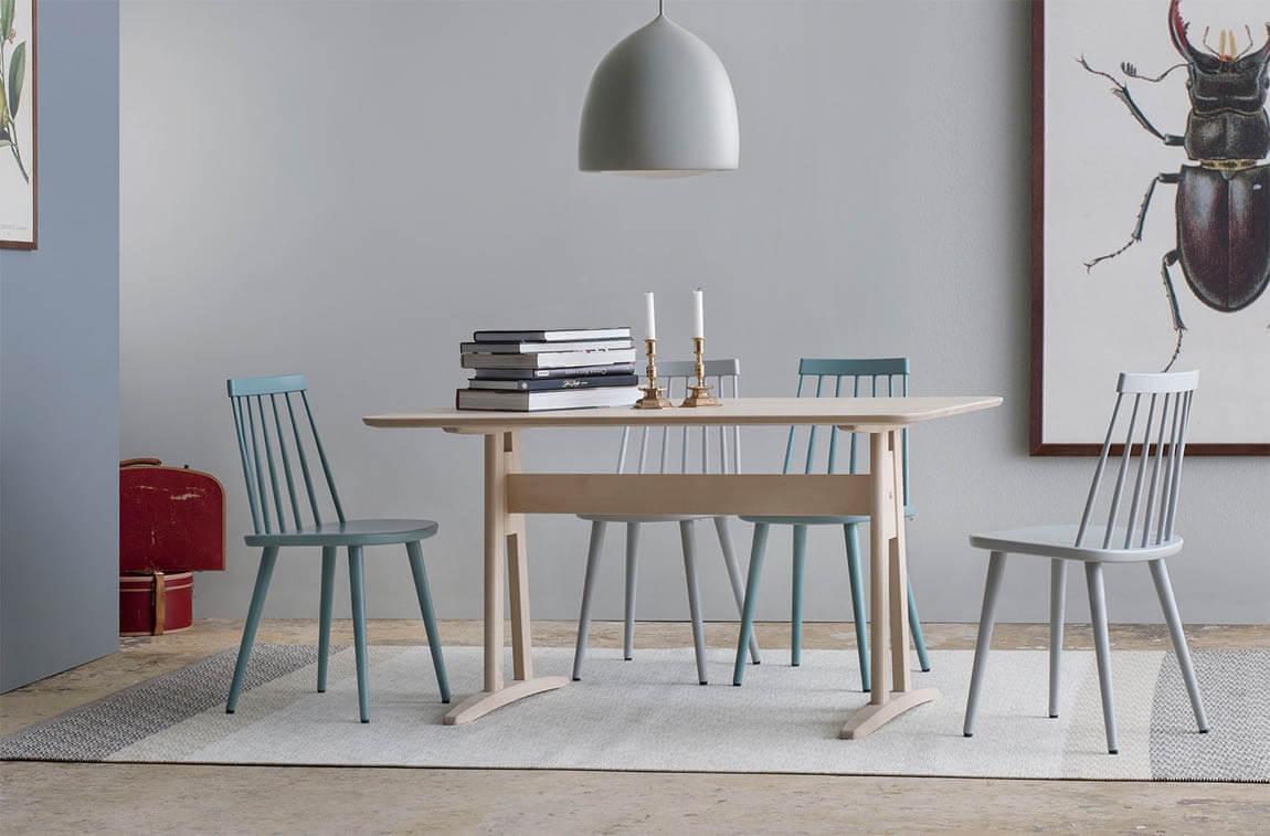 Annie Halvrunt 180x90 cm Matbord   Stolab   Länna Möbler