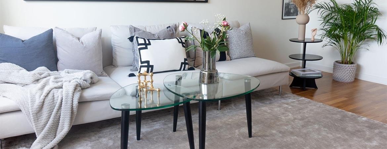 Rut 122X70 cm Mahogny Soffbord | Bordbirger | Bonus Möbler
