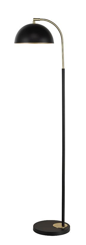 Milano Svart Mässing Bordslampa | Oriva | Bonus Möbler