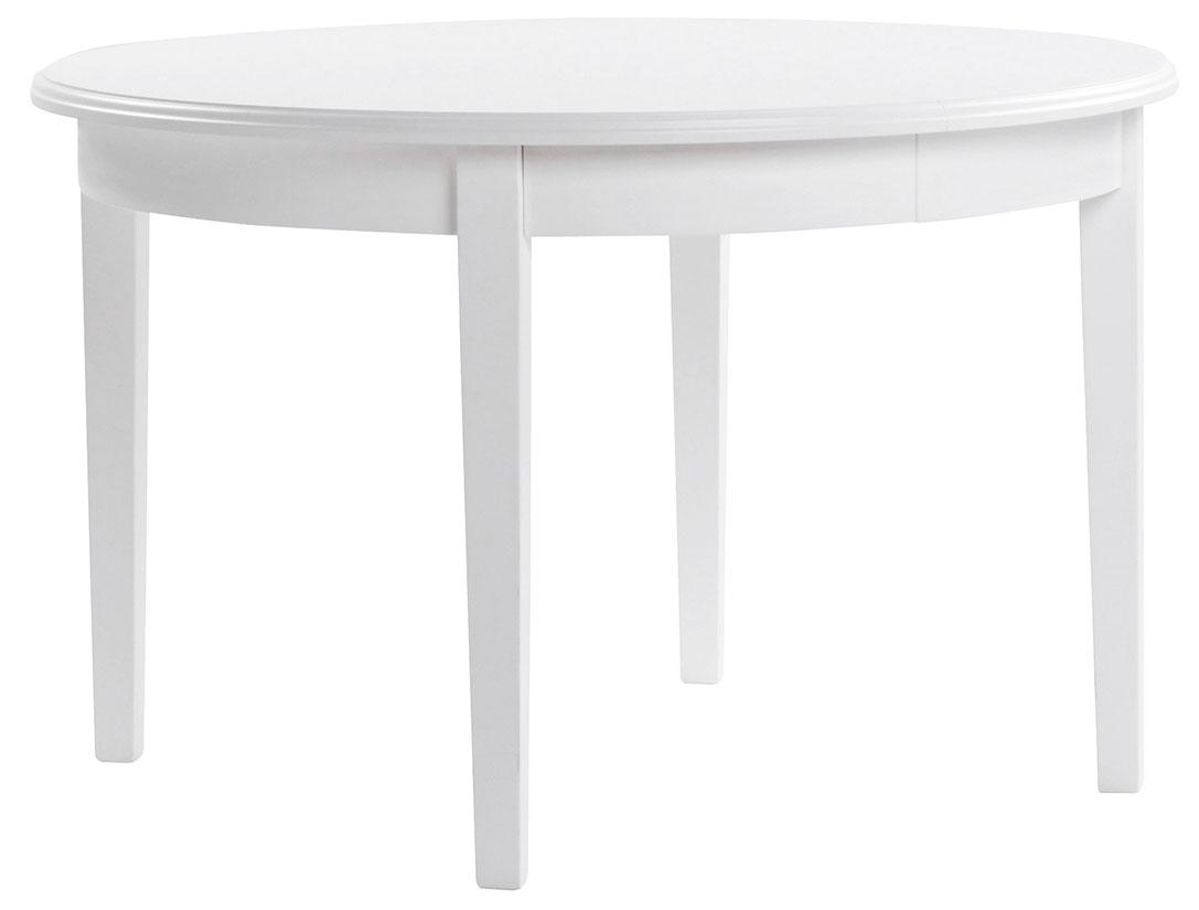 Koster Runt 120 168 cm Vit Matgrupp | Rowico | Bonus Möbler